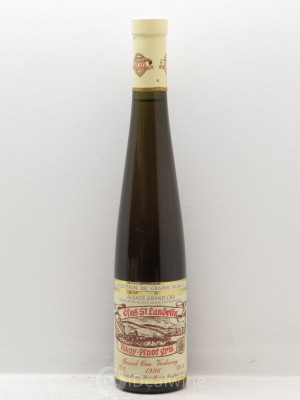 Pinot Gris Sélection de Grains Nobles Clos Saint-Landelin Vorbourg R. Muré  1996 - Lot of 6 Half-bottles