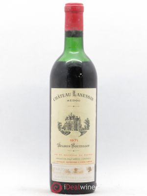 Château Lanessan Cru Bourgeois  1971 - Lot de 1 Bottle