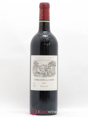 Carruades de Lafite Rothschild Second vin  2015 - Lot de 1 Bouteille
