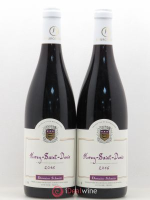 Morey Saint-Denis Domaine Schmitt 2016 - Lot de 2 Bottles