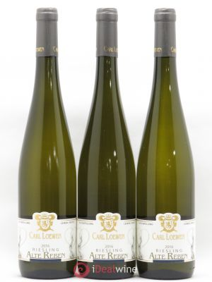 Riesling Carl Loewen Alte Reben 2016 - Lot de 3 Bottles