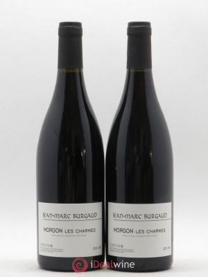 Morgon Les Charmes Jean-Marc Burgaud (Domaine)  (no reserve) 2018 - Lot de 2 Bottles