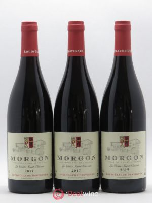 Morgon La Voûte Saint Vincent Louis-Claude Desvignes (Domaine)  (no reserve) 2017 - Lot de 3 Bottles