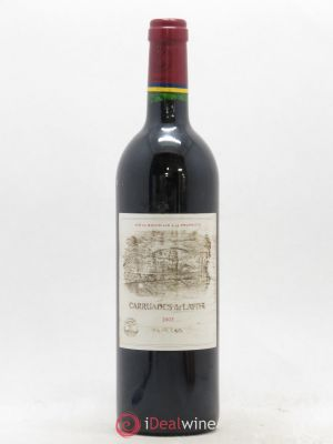 Carruades de Lafite Rothschild Second vin  2003 - Lot de 1 Bottle