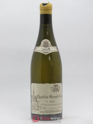 Chablis Grand Cru Clos Raveneau (Domaine)  2004 - Lot de 1 Bottle