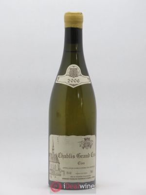 Chablis Grand Cru Clos Raveneau (Domaine)  2006 - Lot de 1 Bottle