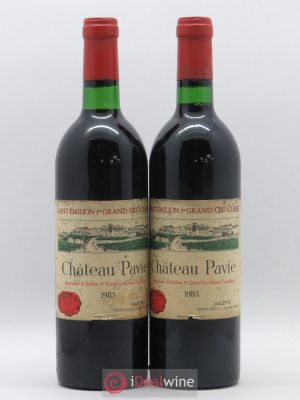 Château Pavie 1er Grand Cru Classé A  1983 - Lot de 2 Bottles