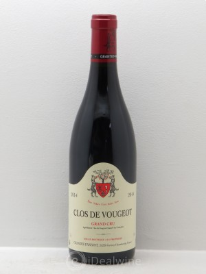 Clos de Vougeot Grand Cru Geantet-Pansiot  2014 - Lot de 1 Bottle
