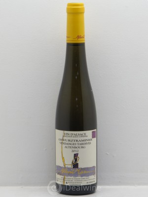 acheter gewurztraminer vendanges tardives altenbourg albert mann 50cl 2012 1 bouteille. Black Bedroom Furniture Sets. Home Design Ideas