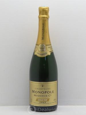 acheter brut champagne heidsieck co monopole monopole gold top 2009 1 bouteille vente de. Black Bedroom Furniture Sets. Home Design Ideas