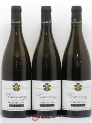 Vouvray Demi-Sec Clos Naudin - Philippe Foreau  2015