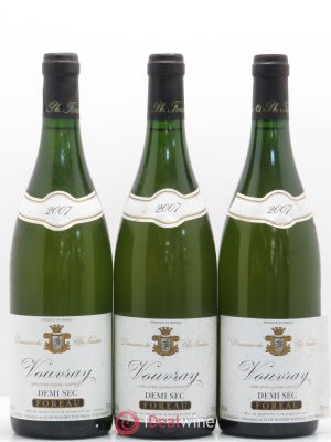 Vouvray Demi-Sec Clos Naudin - Philippe Foreau  (no reserve) 2007