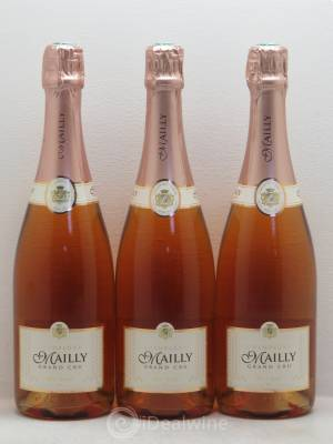 Brut Champagne Mailly ---- - Lot de 3 Bouteilles