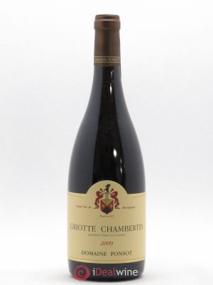 Griotte-Chambertin Grand Cru Ponsot (Domaine)  2009 - Lot de 1 Bottle