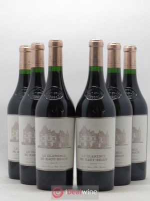 Clarence (Bahans) de Haut-Brion Second Vin  2012 - Lot de 6 Bouteilles