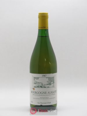 Bourgogne Aligote Savour Club (no reserve) 1987 - Lot de 1 Bottle