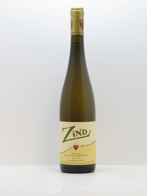 Vin de France Zind Zind-Humbrecht (Domaine)  2014 - Lot de 1 Bottle