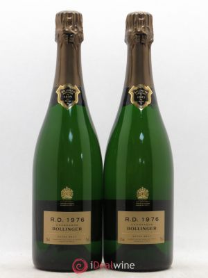 R.D. Bollinger  1976 - Lot de 2 Bottles