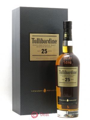 Whisky 25 Year Old Single Malt Tullibardine  ---- - Lot de 1 Bottle