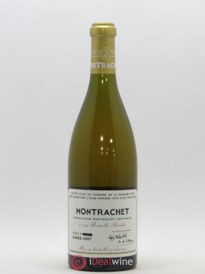 Montrachet Grand Cru Domaine de la Romanée-Conti  2007 - Lot de 1 Bottle