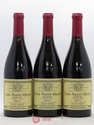 Clos Saint-Denis Grand Cru Maison Louis Jadot  2011 - Lot de 3 Bouteilles