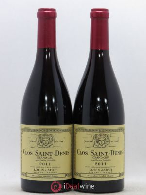 Clos Saint-Denis Grand Cru Maison Louis Jadot  2011 - Lot de 2 Bouteilles