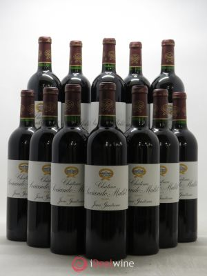 Bottle Château Sociando Mallet  2009 - Lot de 12 Bottles