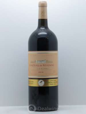 Château de Reignac Second vin  2014 - Lot de 1 Magnum