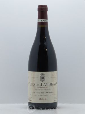 Clos des Lambrays Grand Cru Domaine des Lambrays  2011 - Lot de 1 Bottle