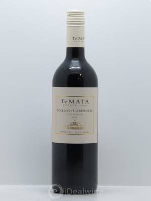 Hawke's Bay Te Mata Estate Vineyards Merlot/Cabernet Sauvignon  2015 - Lot de 1 Bouteille