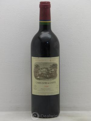 Carruades de Lafite Rothschild Second vin  1998 - Lot de 1 Bouteille
