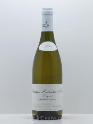 Chassagne-Montrachet 1er Cru Morgeot Leroy SA  2012 - Lot de 1 Bottle