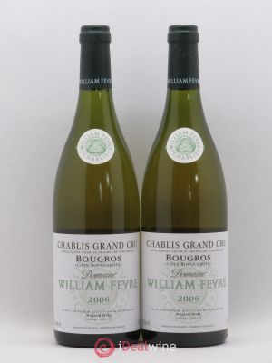 Chablis Grand Cru Bougros William Fèvre (Domaine) Côte Bouguerots 2006 - Lot de 2 Bottles