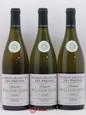 Chablis Grand Cru les Preuses William Fèvre (Domaine)  2006 - Lot de 3 Bottles