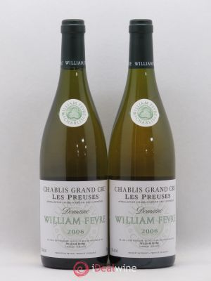 Chablis Grand Cru les Preuses William Fèvre (Domaine)  2006 - Lot de 2 Bottles