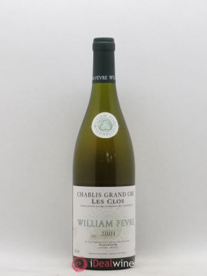 Chablis Grand Cru Les Clos William Fèvre (Domaine)  2001 - Lot de 1 Bottle