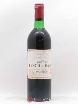 Château Lynch Bages 5ème Grand Cru Classé  1978 - Lot de 1 Bottle