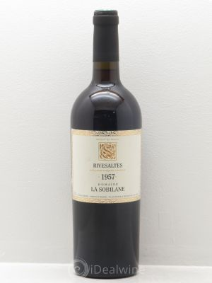 Rivesaltes La Sobilane (Domaine)  1957 - Lot de 1 Bottle