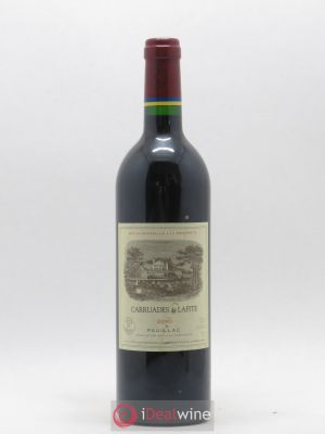 Carruades de Lafite Rothschild Second vin  2000 - Lot de 1 Bouteille