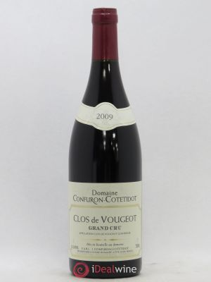Clos de Vougeot Grand Cru Confuron-Cotetidot  2009 - Lot de 1 Bottle