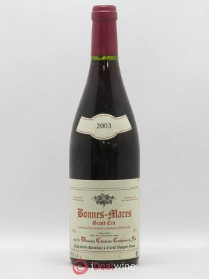Bonnes-Mares Grand Cru Christian Confuron  2003 - Lot de 1 Bottle