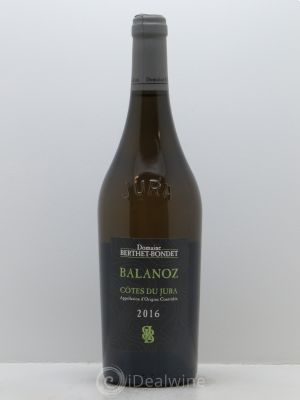 Côtes du Jura Balanoz Berthet-Bondet  2016 - Lot de 1 Bottle