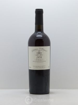 Rivesaltes Château Villargeil  1958 - Lot de 1 Bottle