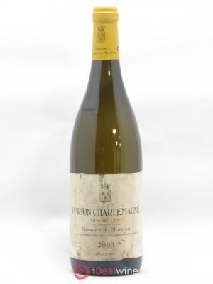 Corton-Charlemagne Grand Cru Bonneau du Martray (Domaine)  2003 - Lot de 1 Bottle