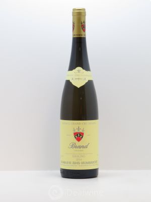 Riesling Grand Cru Brand Zind-Humbrecht (Domaine)  2014 - Lot de 1 Bottle
