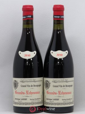 Grands-Echézeaux Grand Cru Dominique Laurent  2010 - Lot de 2 Bottles