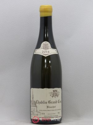 Chablis Grand Cru Blanchot Raveneau (Domaine)  2014 - Lot de 1 Bottle