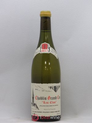 Chablis Grand Cru Les Clos René et Vincent Dauvissat  2017 - Lot de 1 Bottle