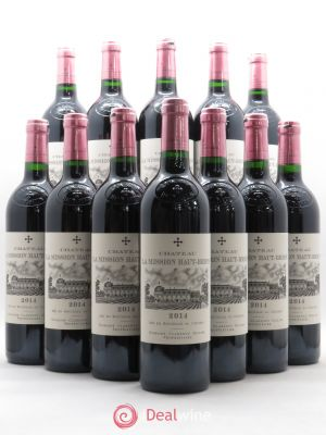 Bottle Château La Mission Haut-Brion Cru Classé de Graves  2014 - Lot de 12 Bottles