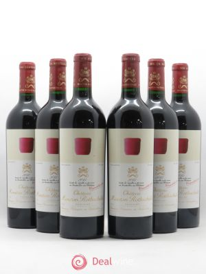 Château Mouton Rothschild 1er Grand Cru Classé  2013 - Lot de 6 Bottles